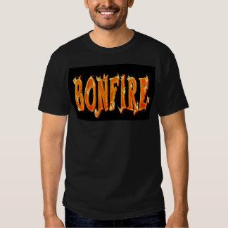 Camisetas de la hoguera playeras