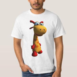 Camisetas de la jirafa playeras