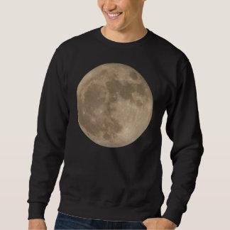 Camisetas de la luna de los hombres del camisetas sudaderas encapuchadas