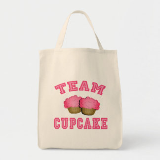 Camisetas de la magdalena del equipo, sudaderas bolsa tela para la compra