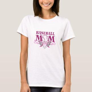 Camisetas de la mamá del béisbol