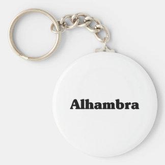 Camisetas de la obra clásica de Alhambra Llavero Redondo Tipo Pin
