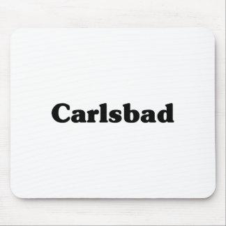 Camisetas de la obra clásica de Carlsbad Tapete De Ratón