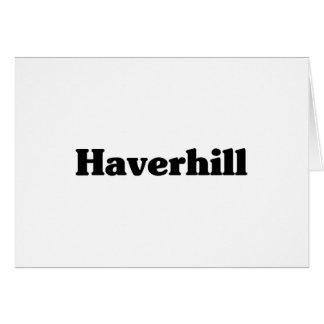 Camisetas de la obra clásica de Haverhill Felicitacion
