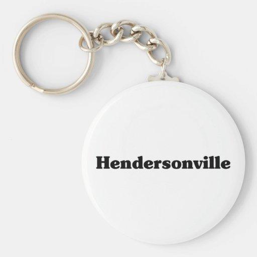 Camisetas de la obra clásica de Hendersonville Llaveros