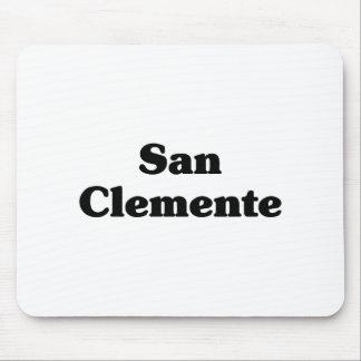Camisetas de la obra clásica de San Clemente Tapetes De Raton