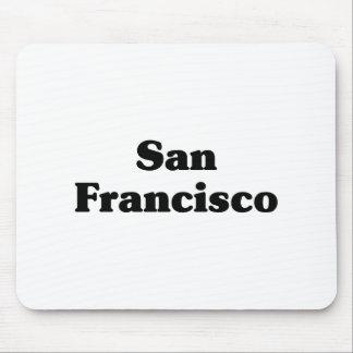 Camisetas de la obra clásica de San Francisco Alfombrilla De Raton