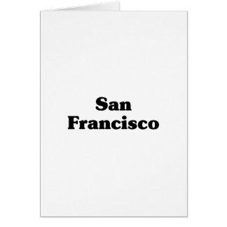 Camisetas de la obra clásica de San Francisco Tarjeton