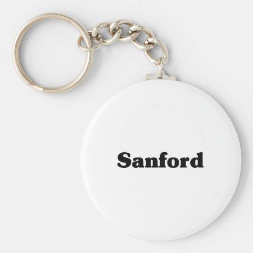 Camisetas de la obra clásica de Sanford Llaveros Personalizados