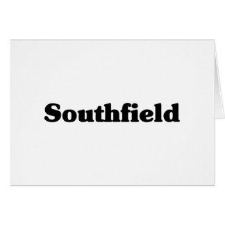 Camisetas de la obra clásica de Southfield Felicitacion