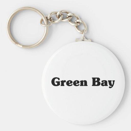 Camisetas de la obra clásica del Green Bay Llavero Personalizado