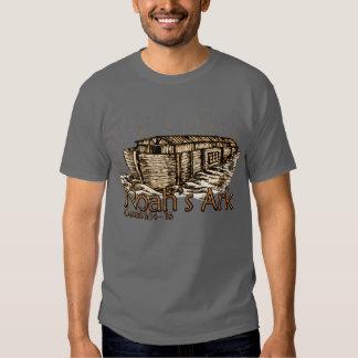 Camisetas de la oscuridad de la arca de Noah Playera