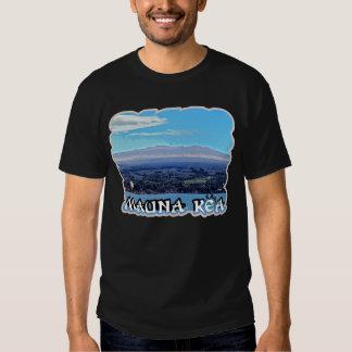 Camisetas de la oscuridad de Mauna Kea Poleras