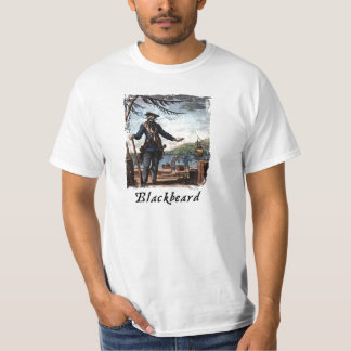 Camisetas de la pintura de Blackbeard