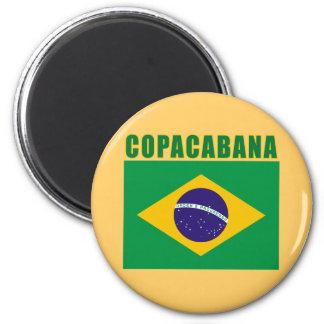 Camisetas de la playa de COPACABANA, regalos Imán Redondo 5 Cm