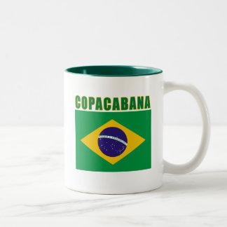 Camisetas de la playa de COPACABANA, regalos Taza De Dos Tonos