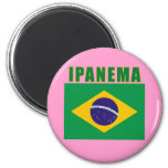 Camisetas de la playa de IPANEMA el Brasil, regalo Imanes De Nevera