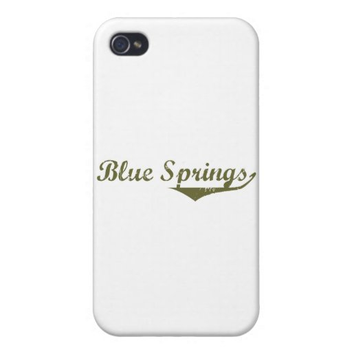 Camisetas de la revolución de Blue Springs iPhone 4/4S Carcasa