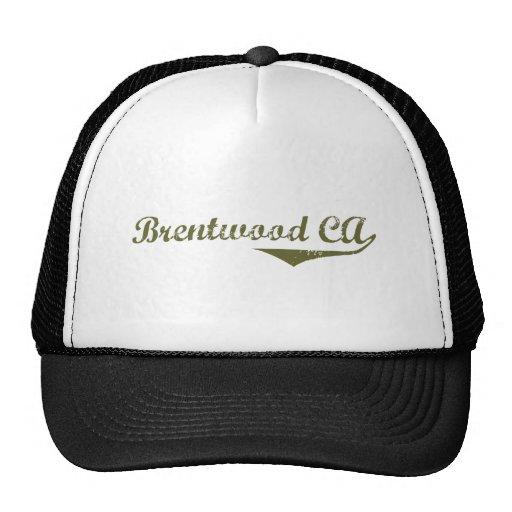 Camisetas de la revolución de Brentwood Gorra