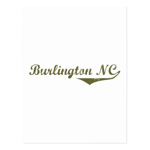 Camisetas de la revolución de Burlington Tarjeta Postal