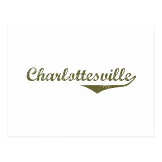 Camisetas de la revolución de Charlottesville Tarjetas Postales