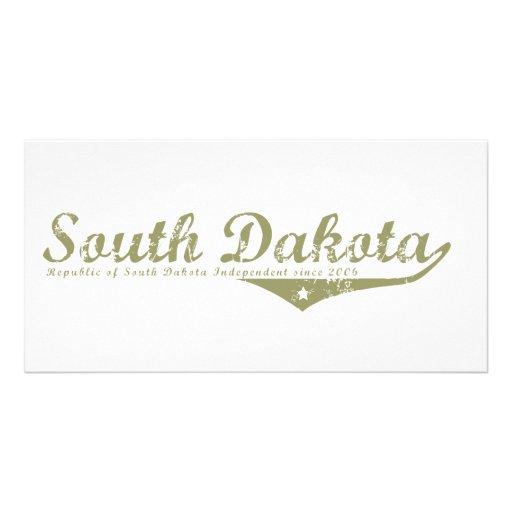 Camisetas de la revolución de Dakota del Sur Tarjetas Personales Con Fotos