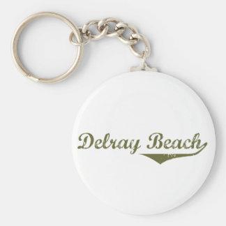 Camisetas de la revolución de Delray Beach Llavero Redondo Tipo Pin