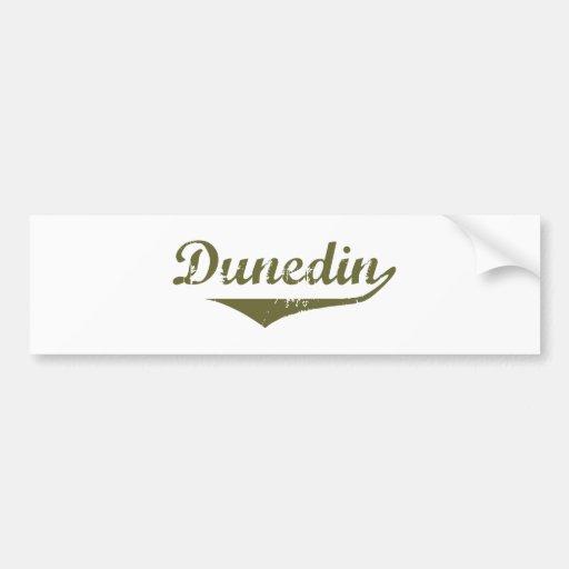 Camisetas de la revolución de Dunedin Etiqueta De Parachoque
