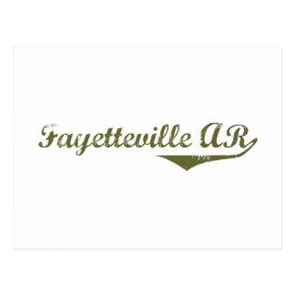 Camisetas de la revolución de Fayetteville Tarjetas Postales