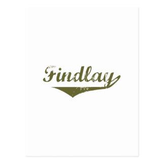 Camisetas de la revolución de Findlay Postal