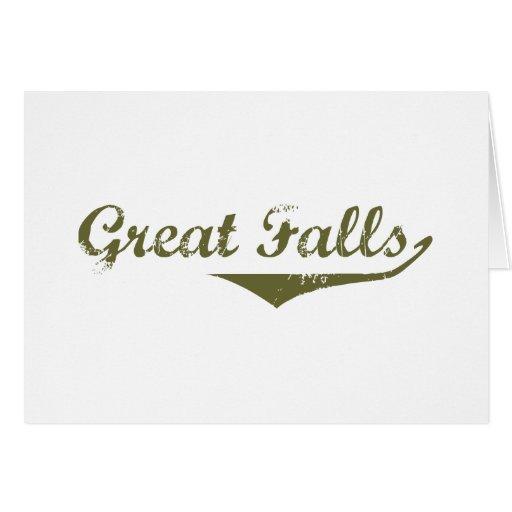Camisetas de la revolución de Great Falls Tarjeta De Felicitación