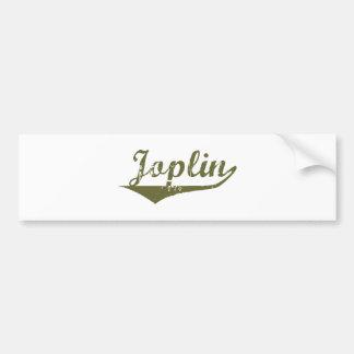 Camisetas de la revolución de Joplin Etiqueta De Parachoque