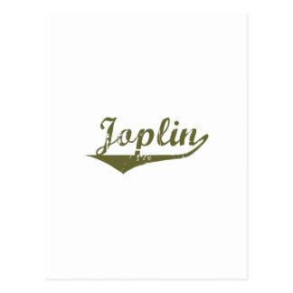 Camisetas de la revolución de Joplin Tarjeta Postal