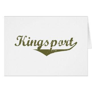 Camisetas de la revolución de Kingsport Tarjeta De Felicitación