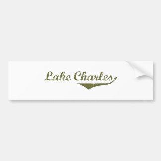 Camisetas de la revolución de Lake Charles Etiqueta De Parachoque