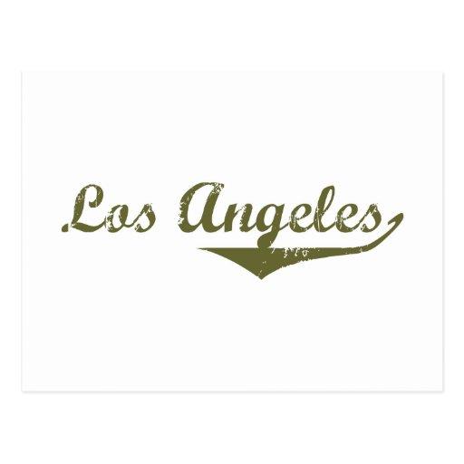 Camisetas de la revolución de Los Ángeles Postales