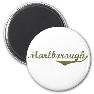 Camisetas de la revolución de Marlborough Imán Redondo 5 Cm
