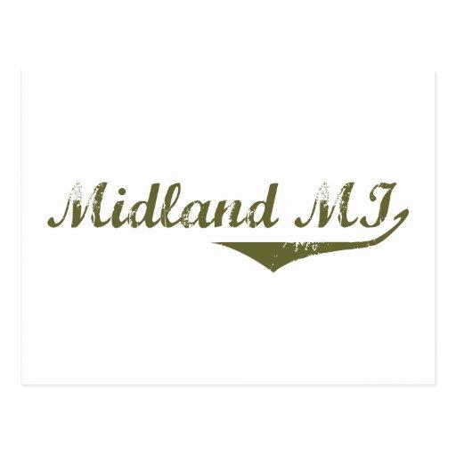 Camisetas de la revolución de Midland Postal