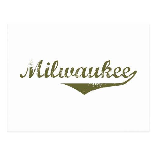 Camisetas de la revolución de Milwaukee Postales