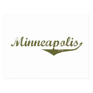 Camisetas de la revolución de Minneapolis Postal