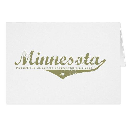 Camisetas de la revolución de Minnesota Tarjeta