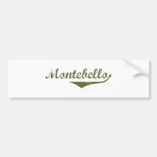 Camisetas de la revolución de Montebello Etiqueta De Parachoque