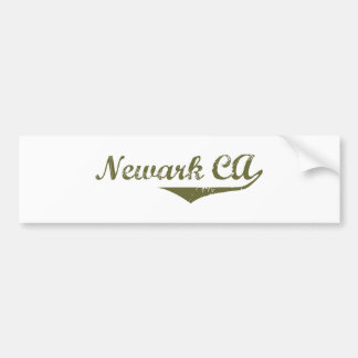 Camisetas de la revolución de Newark Etiqueta De Parachoque