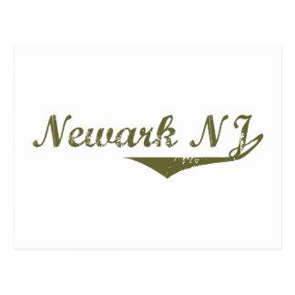 Camisetas de la revolución de Newark Tarjetas Postales