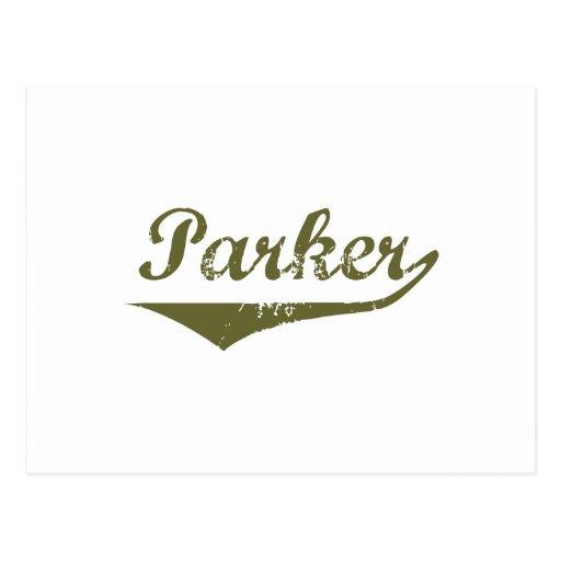 Camisetas de la revolución de Parker Tarjeta Postal