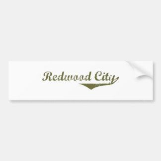 Camisetas de la revolución de Redwood City Pegatina Para Auto