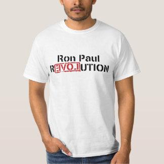 Camisetas de la revolución de Ron Paul Playeras