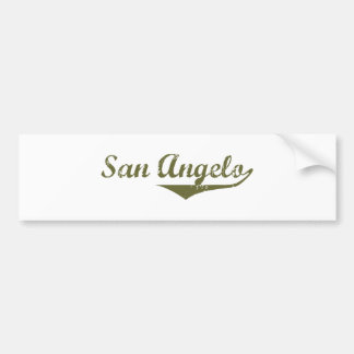 Camisetas de la revolución de San Ángel Etiqueta De Parachoque