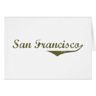 Camisetas de la revolución de San Francisco Tarjetas