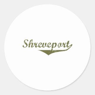Camisetas de la revolución de Shreveport Etiquetas